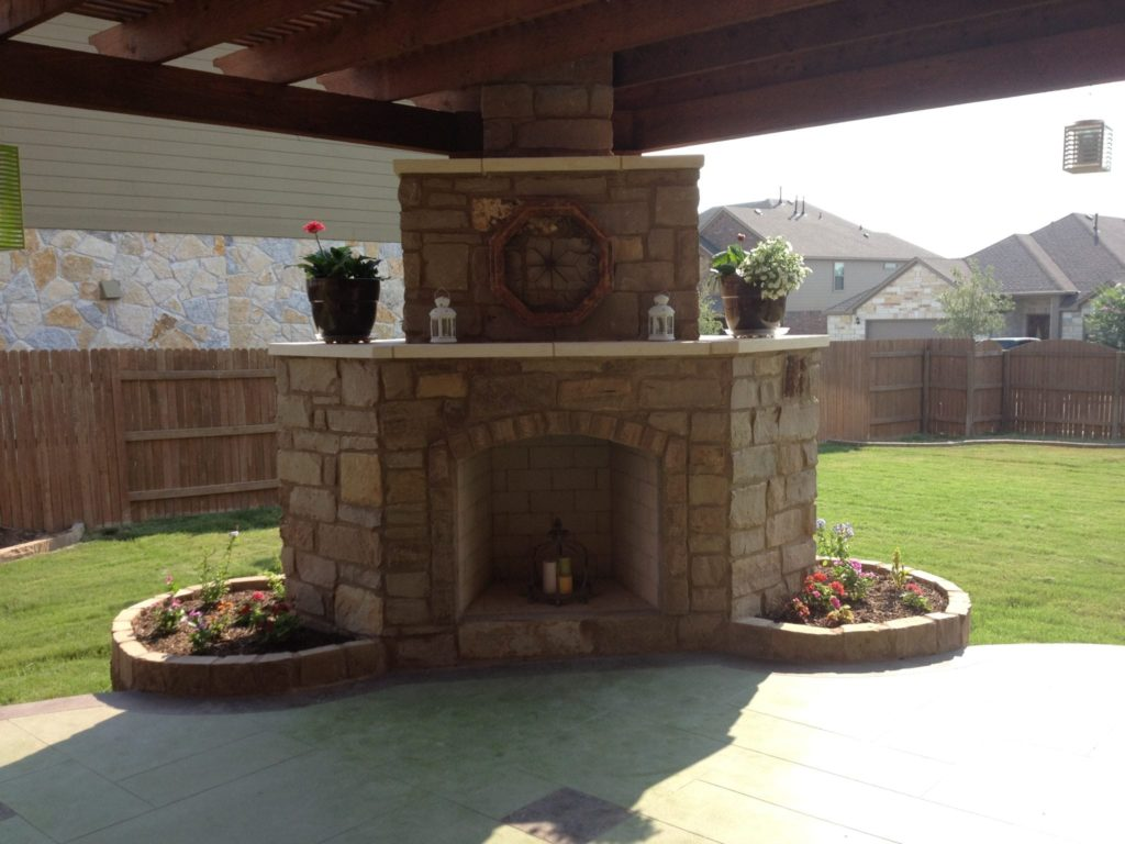 The First Thing To Decide, When Considering An Outdoor Fireplace,