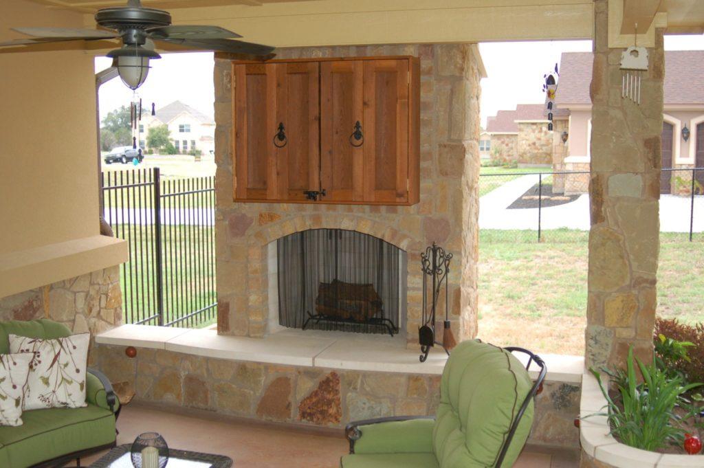 100 Outdoor Chimney Fireplace Sunjoy Fireplaces
