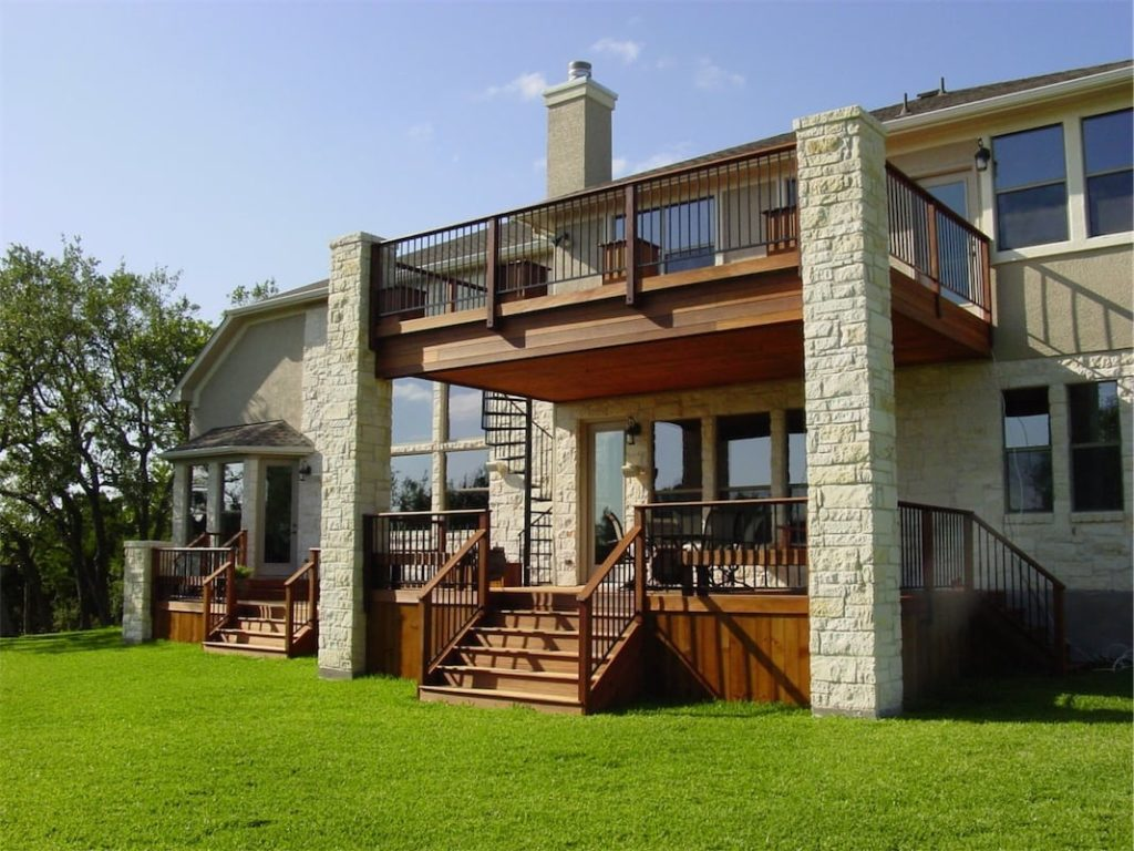 Decks austin outdoor living for New construction design ideas