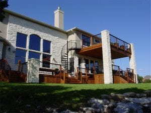 Two Story Deck 2